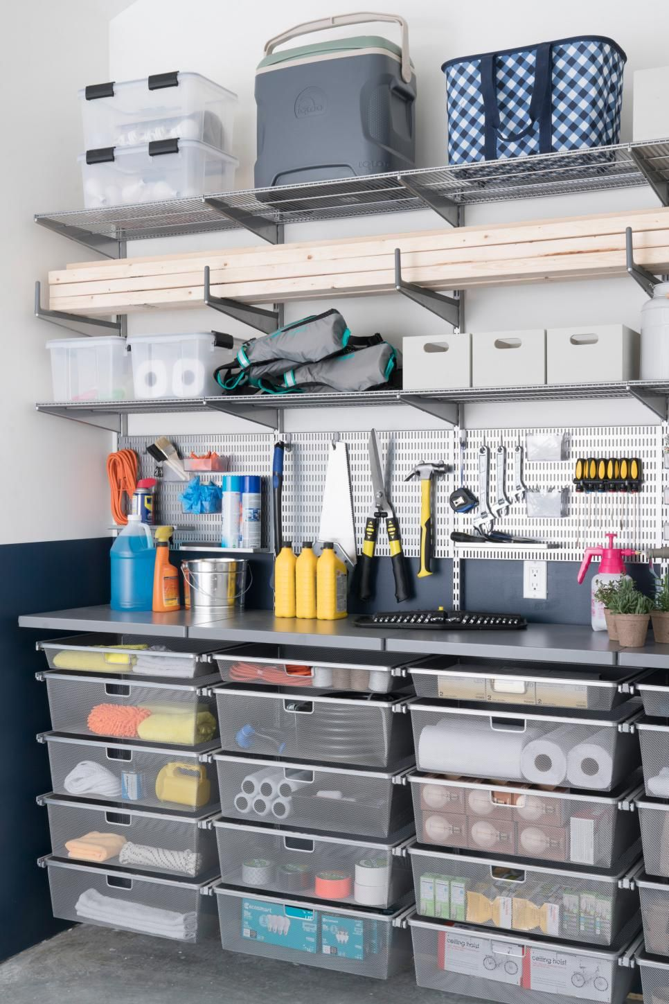 the garage at diy network ultimate retreat 2017 offers a on best garage organization and storage hacks ideas start for organizing your garage id=72908