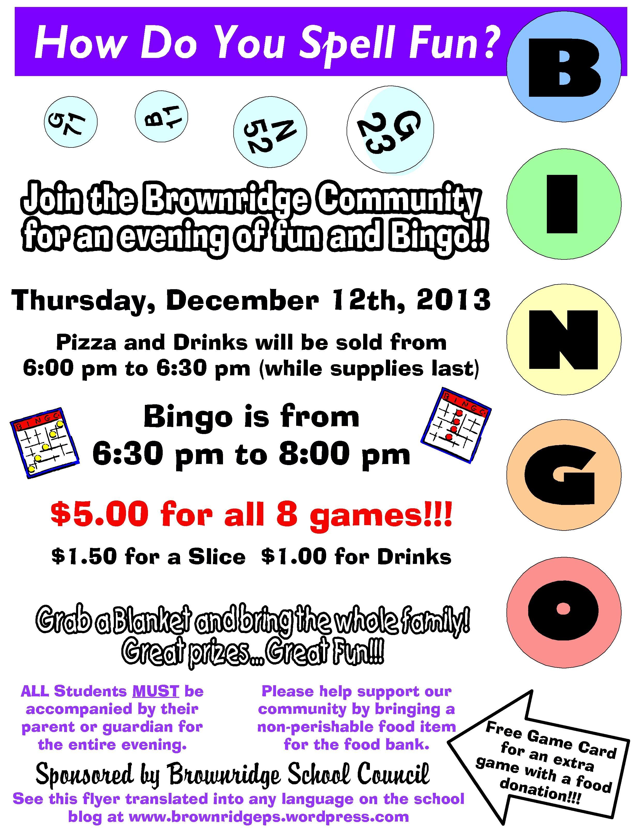 Movie And Bingo Flyers Google Search Bingo Night Bingo Fundraising