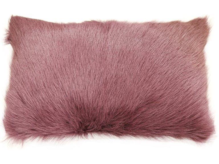 Best Blush Sheepskin Pillow 12X20 Pillows Furniture Design 400 x 300