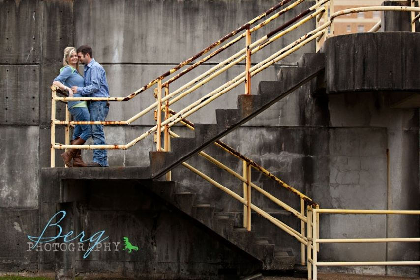 Hattiesburg Mississippi Engagement session - Berg Photography