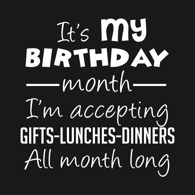 Dat jullie het even weten!!! #birthdaymonth #drankjedoen #hapjedoen #roeptumaar #birthdaymonth