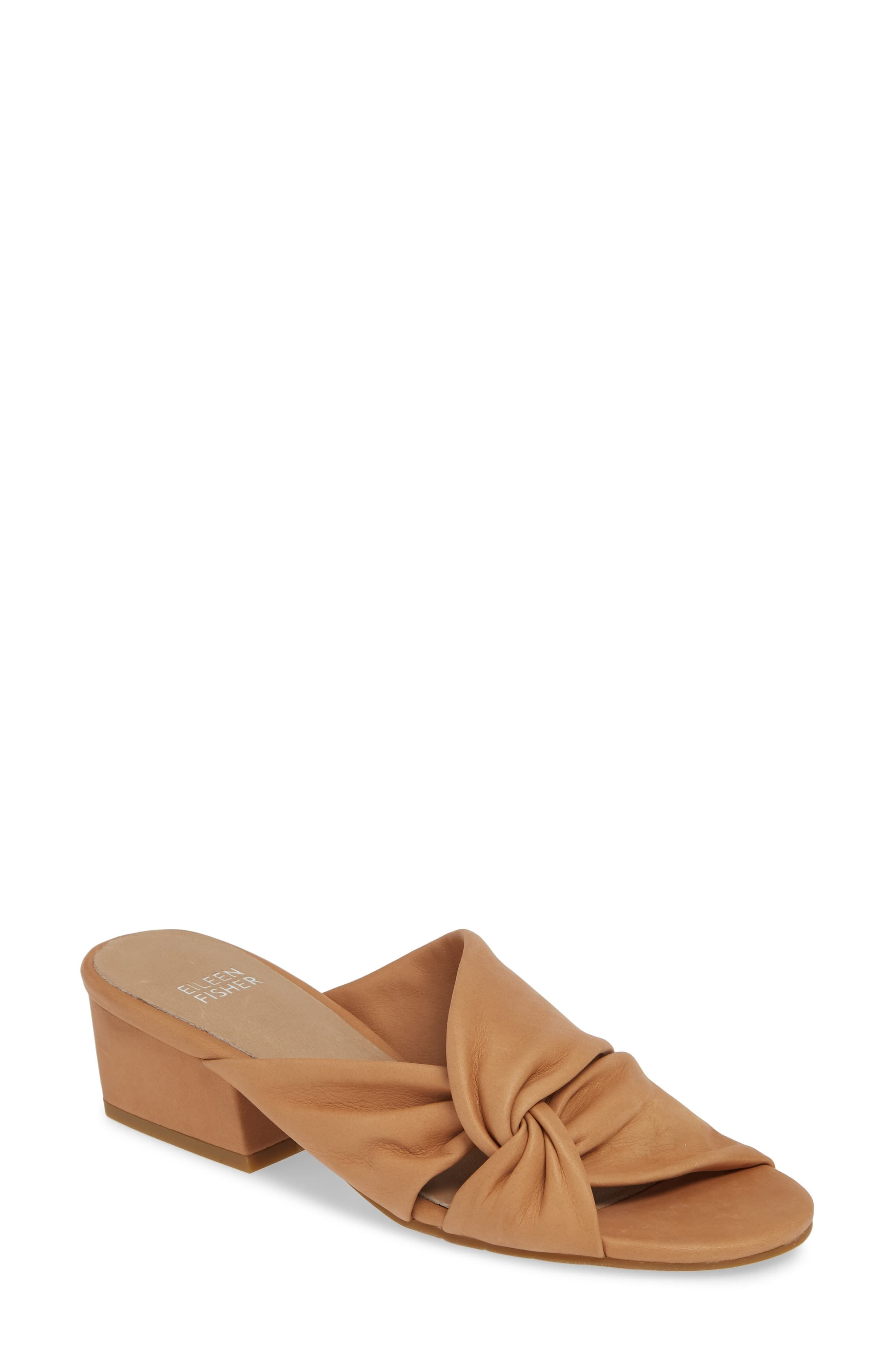 4e45e141223 Women's Stacia Knotted Satin Slide Sandals - A New Day™   Fantasy ...