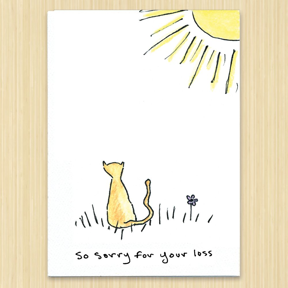 Park Art My WordPress Blog_Sorry For The Loss Of Your Cat Quotes