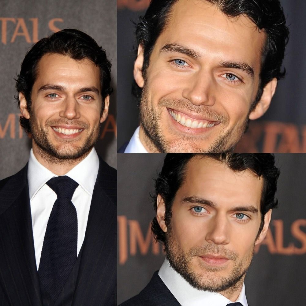 Henry Cavill Immortal premiere collage