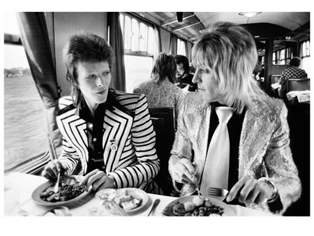 Lunch on A Train To Aberdeen