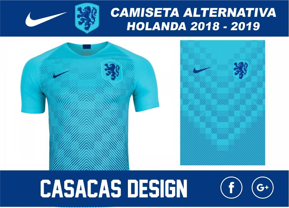 1bb3ba6fc5172 Camiseta alternativa Holanda 2018 - 2019 - Vector
