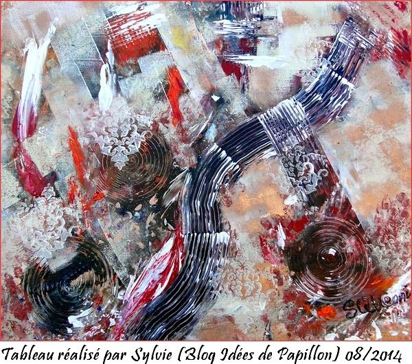 Tableau Peinture Acrylique Sur Toile Couche Epaisse Acrylique