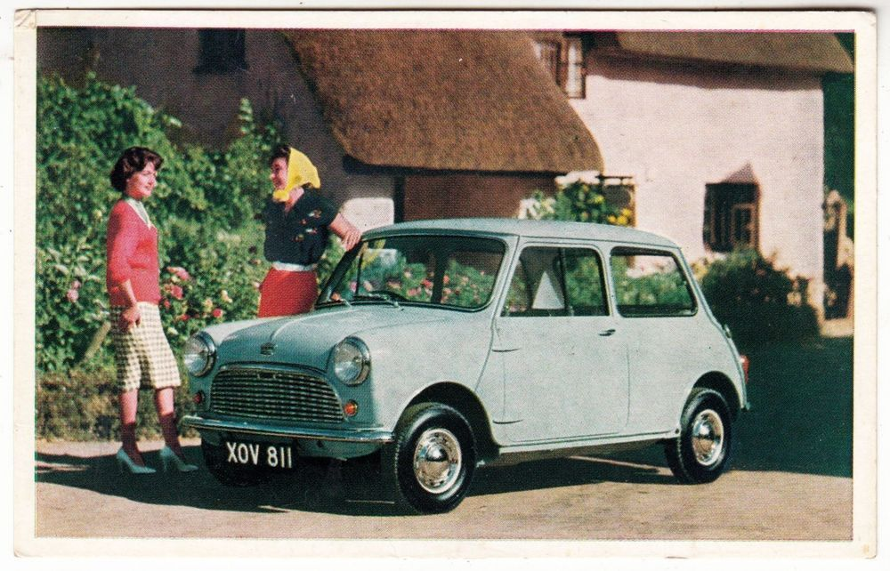 AUSTIN SEVEN MINI CAR - Roundham Garage / Weymouth - 1960s ...