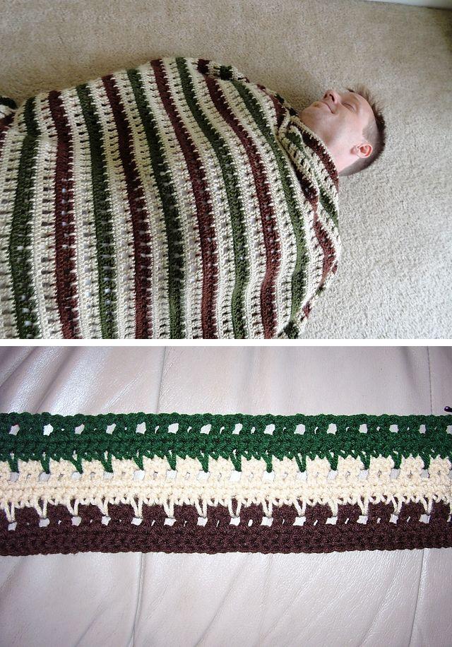 Man-ghan, free pattern Männer häkeldecke   Häkeldecken und Muster ...