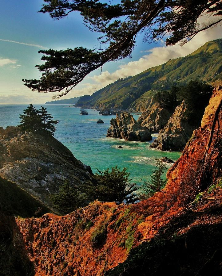 Romantic Places Northern California: California Coastline