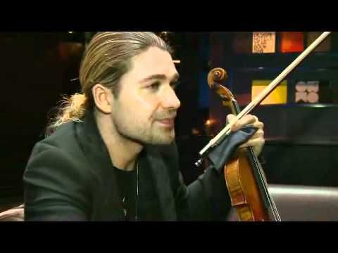 David Garrett beautiful ♥ interview by Tomi Lindblom (2011)
