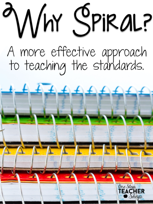 Why Spiral: A more effective way of teaching | Teaching reading ...