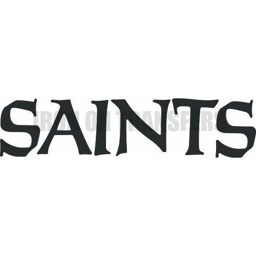 Custom new orleans saints iron on stickers heat transfers number612