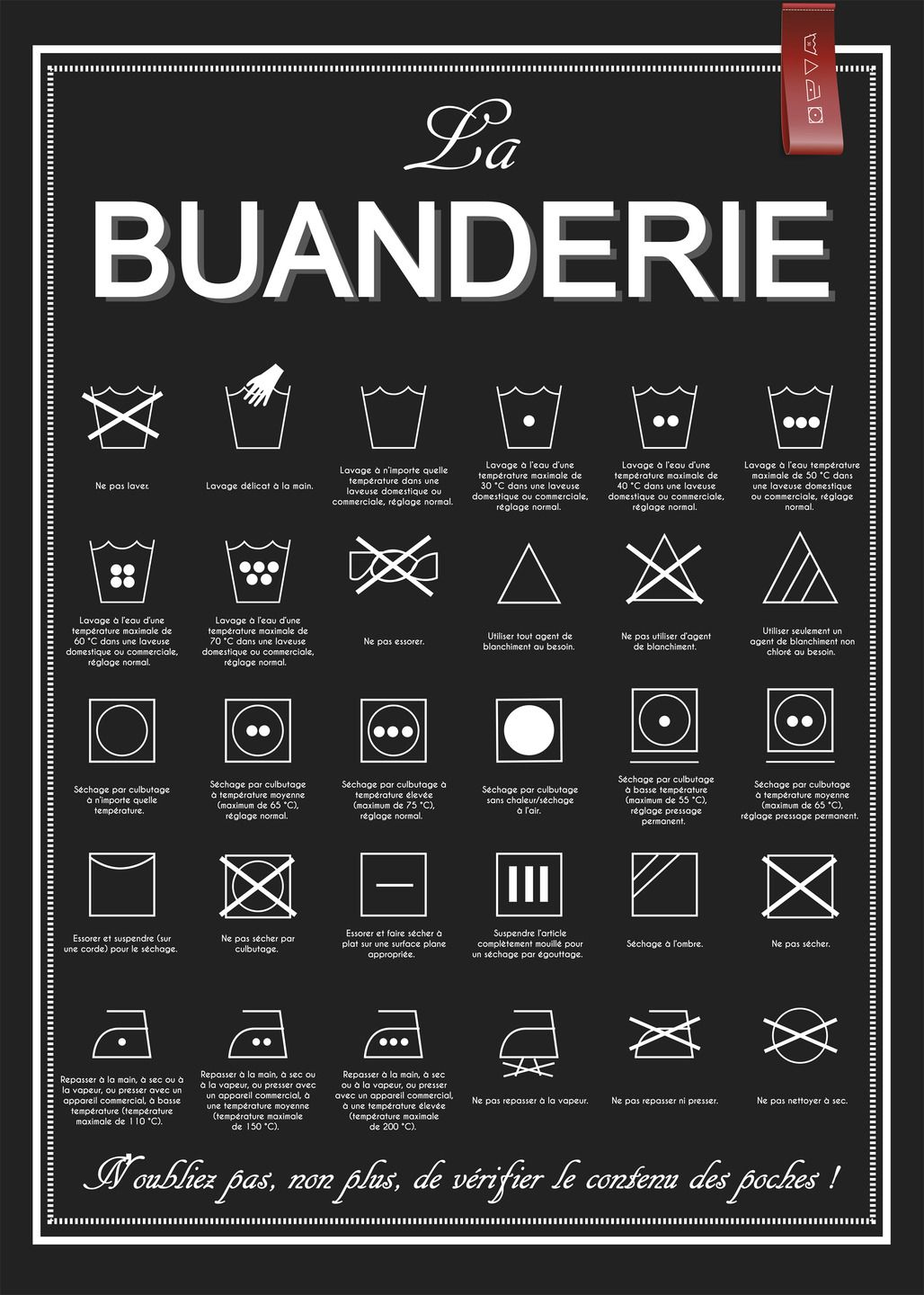 affiche la buanderie t l charger imprimer affiches illustrations posters par affiche. Black Bedroom Furniture Sets. Home Design Ideas