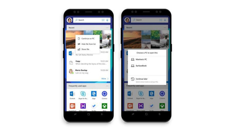 Microsoft Launcher app is now available on Android with