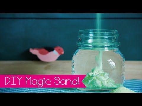 diy magic sand selber machen i aqua sand i magischer sand selber machen i kinnertied 64. Black Bedroom Furniture Sets. Home Design Ideas
