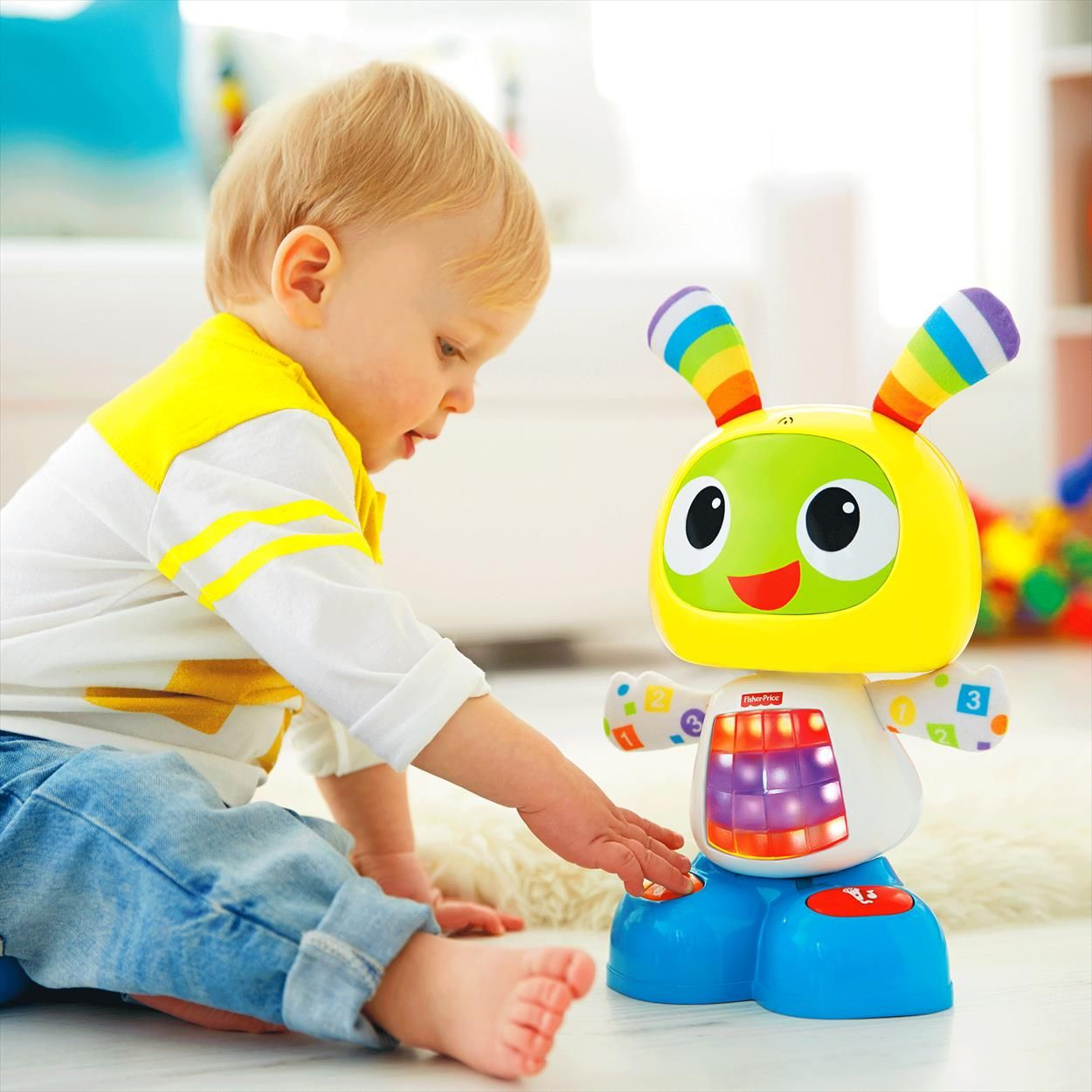 Robot Robi Juguetes Para Ninos De 1 Ano Bebe 8 Meses Y Juguetes