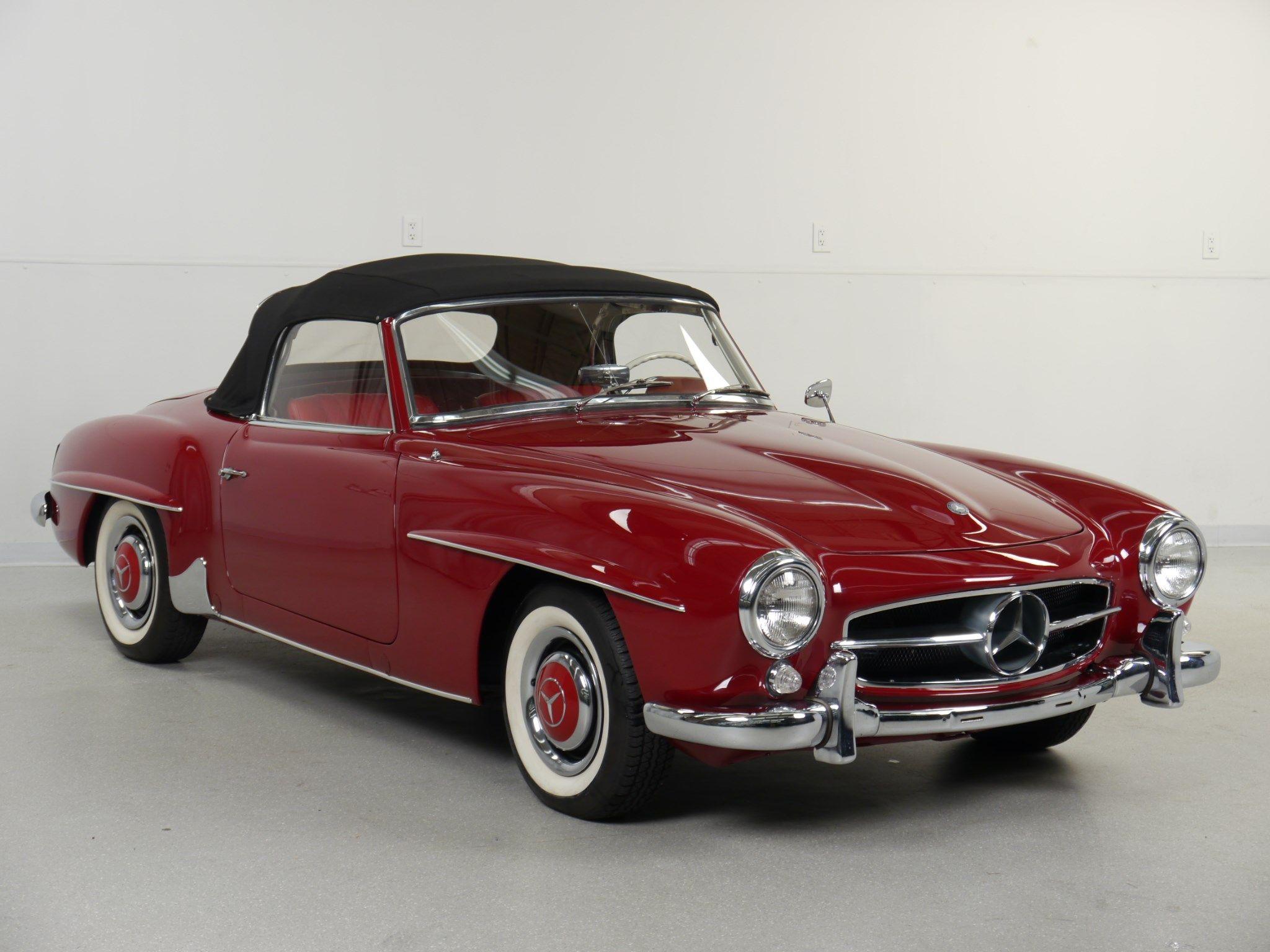 1959 Mercedes Benz 190SL birth family Pinterest