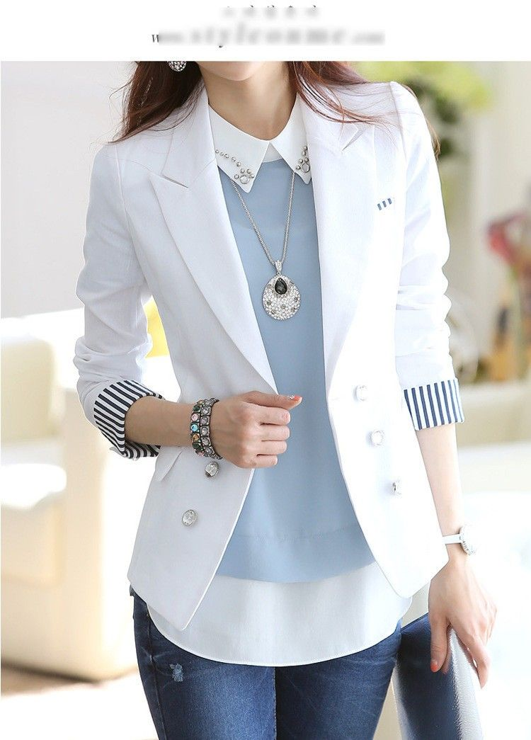 blazer feminino preto e branco - Pesquisa Google  87fe986c0b06