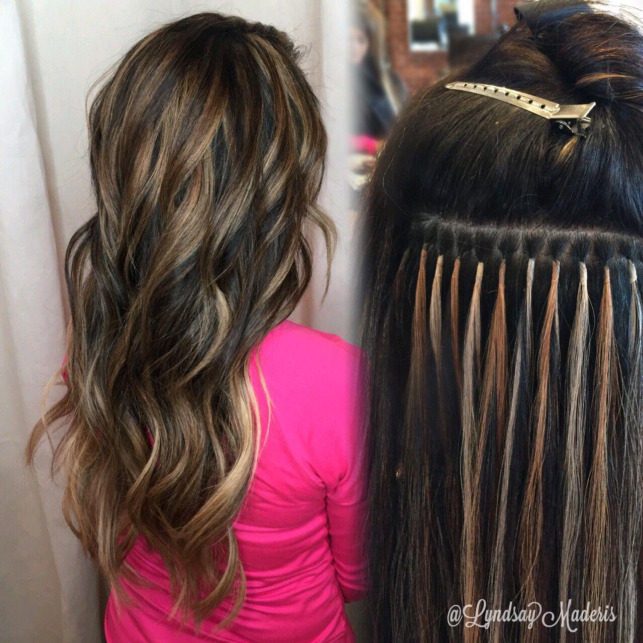 Custom Blended Greatlengthsusa Keratin Hair Extensions Crazy
