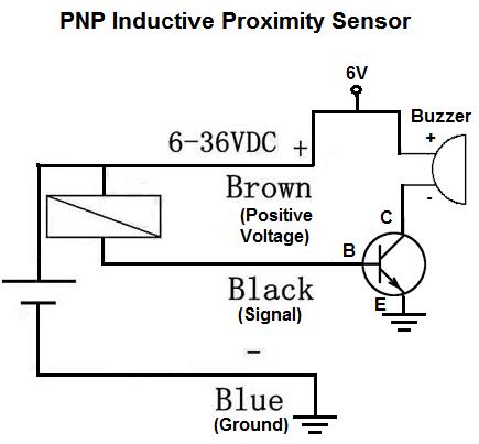Inductive proximity sensor circuit