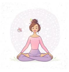 pinॐ on ↡ yoga ↡ in 2020  lotus vector lotus flower
