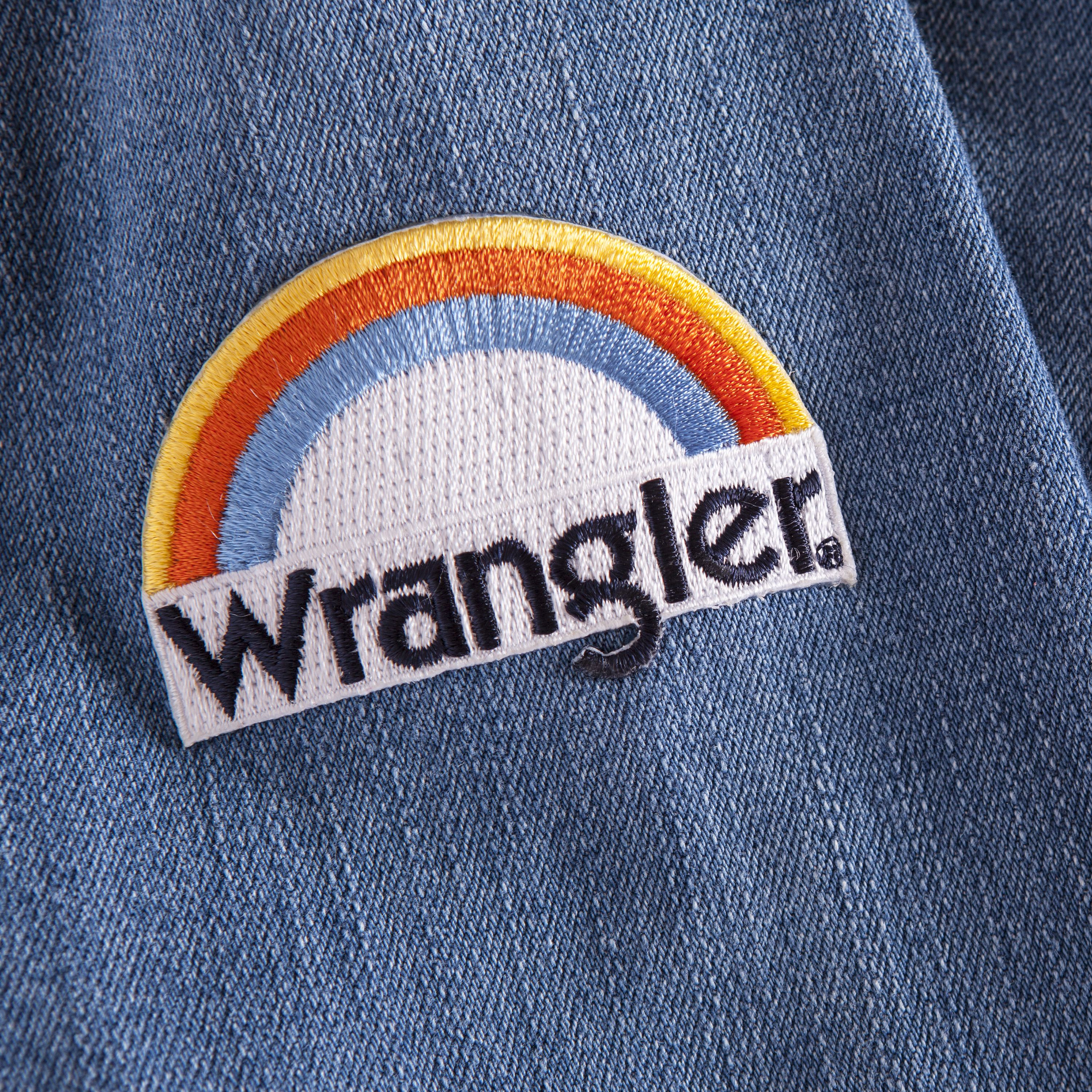 facc7ad6 Rainbow Patch   Wrangler Pins and Patches   Patches, Vintage patches ...