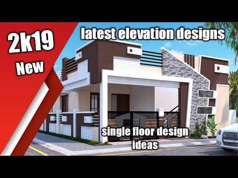 beautiful small house front elevation design ground floor ideas youtube also rh pinterest