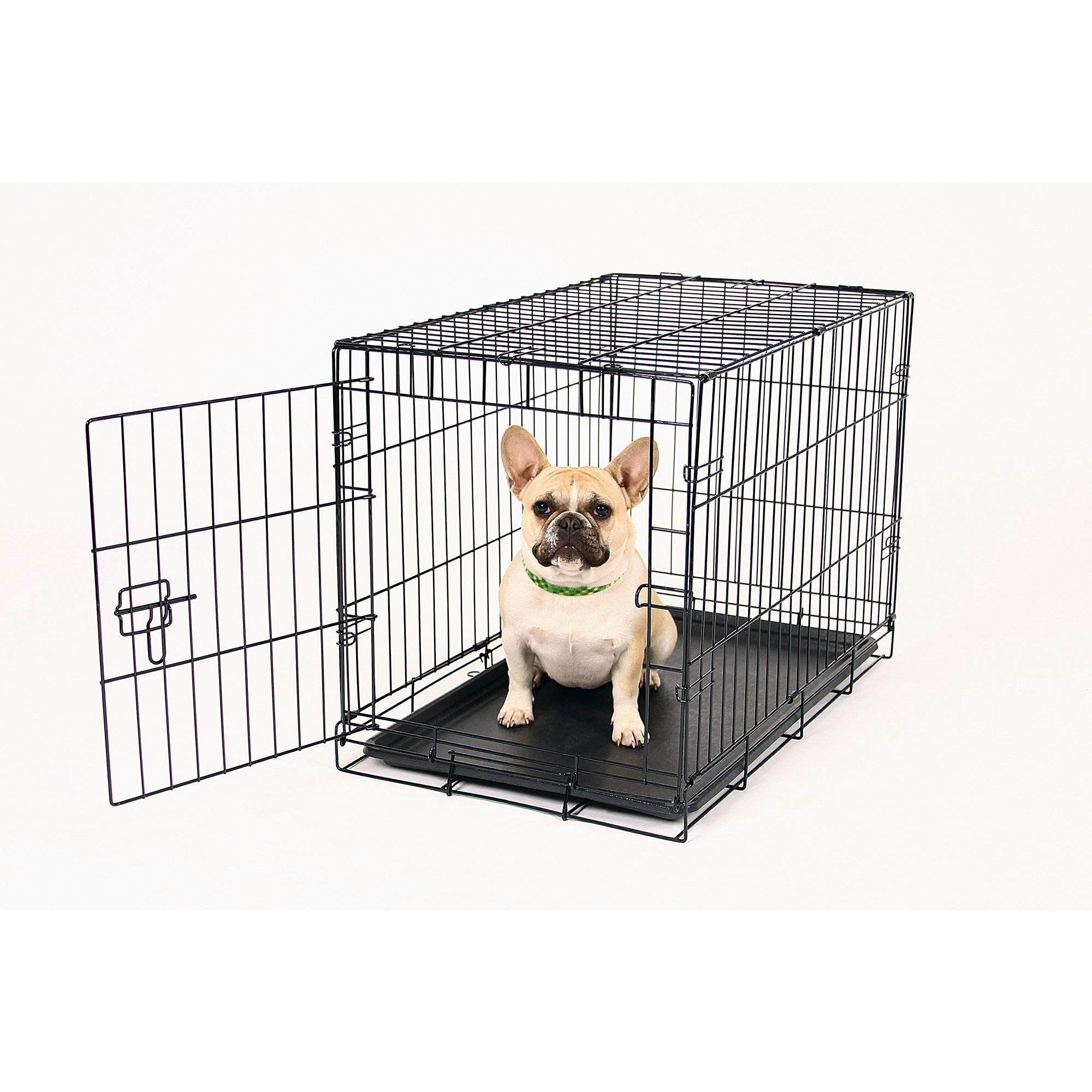 Carlson Compact Single Door Metal Dog Crate Small Black Wheretobuycheapdogcrates Small Dog Crate Wire Dog Crates Dog Crate