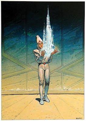 Starwatcher VIII - Moebius (Jean Giraud)  #comics #illustration #moebius