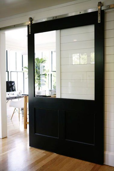 6 idées pour faire soi-même une porte coulissante   portes