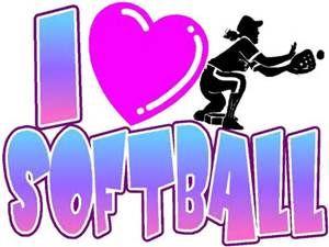 I Love Softball Coloring Pages Softball Softball Fun Softball Life