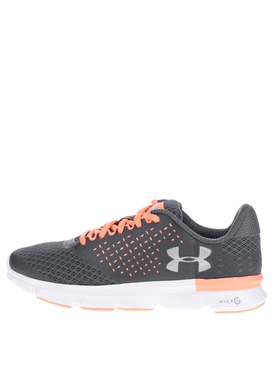 Oranžovo-šedé dámské tenisky Under Armour UA W Micro G Speed Swift 2 2289 Kč 5bd26676c7
