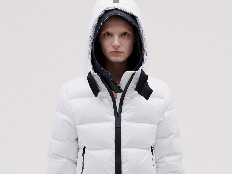 Templa 10k Nano Gloss Puffer Jacket Cropped White Jackets Puffer Puffer Jackets [ 2250 x 3000 Pixel ]