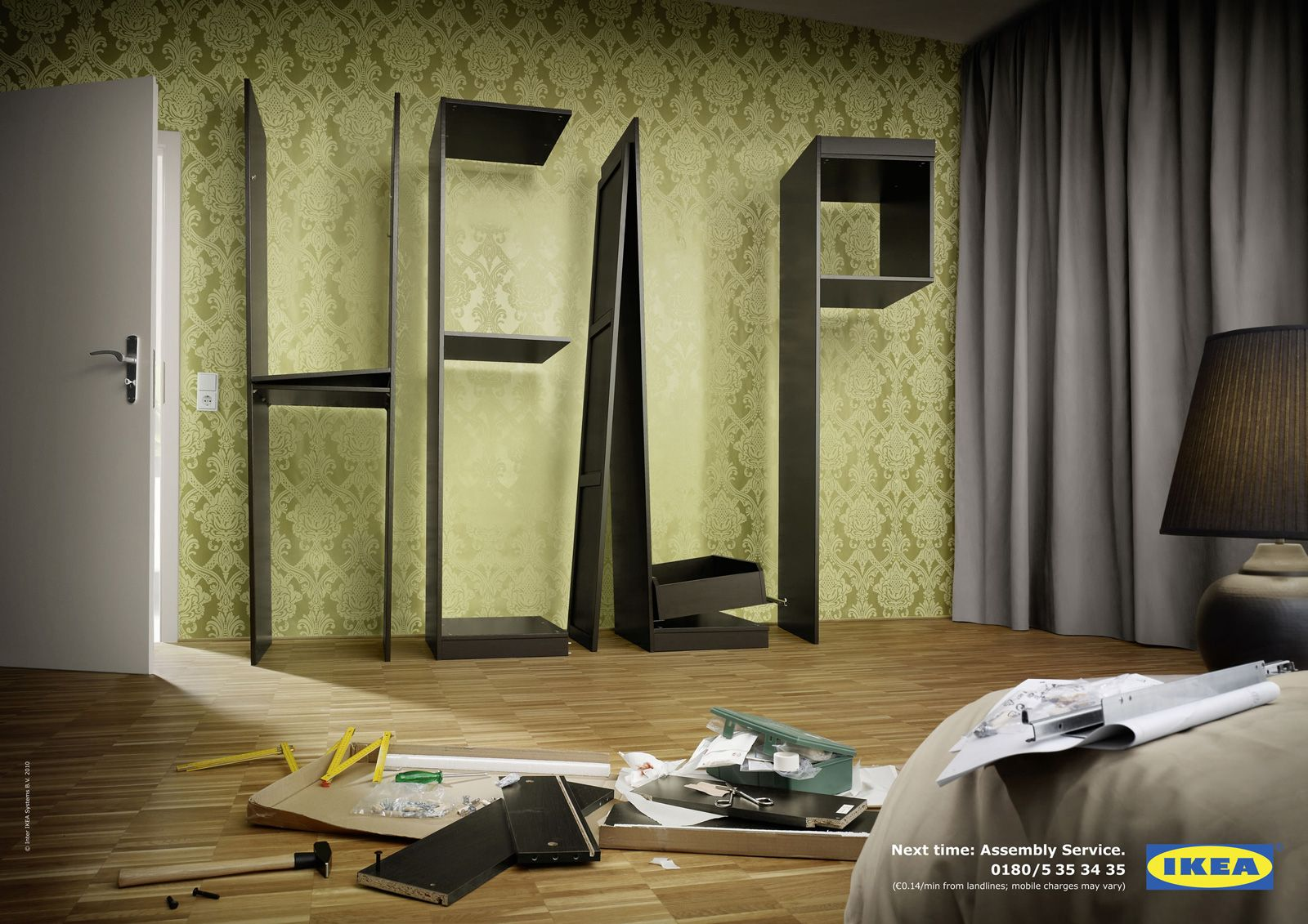 When un-handy people build Ikea furniture - for Ikea