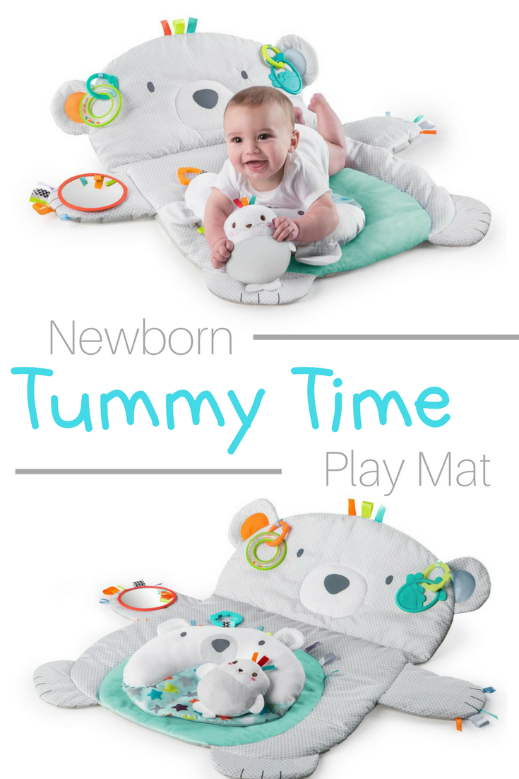 42874c1f7daef Bright Starts Tummy Time Prop & Play Mat   Every newborn and infant  needs tummy