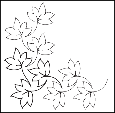 Best Fall Leaves Clip Art Black And White 21718