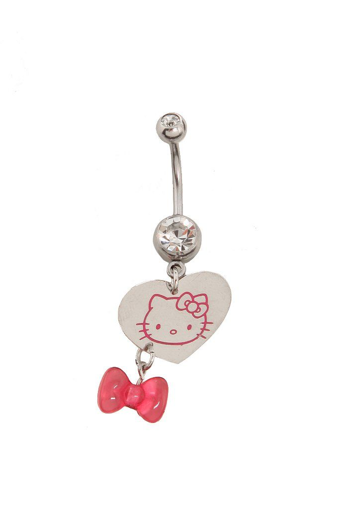 Hello Kitty Belly Button Ring Kitty Ring Belly Button Rings