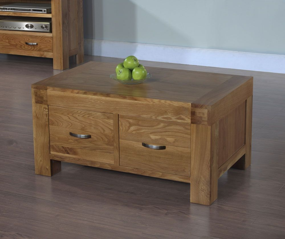 The Santana Blonde Oak 2 Drawer Coffee Table Is Constructed From Rich Reclaimed Light Oak Which Has Built Up A In 2021 Coffee Table Coffee Table Wood Oak Coffee Table [ 840 x 1000 Pixel ]