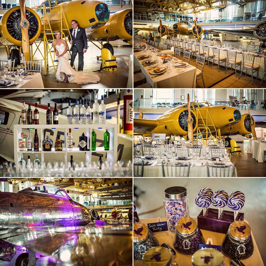 calgary wedding photographer, aerospace museum. {devin + chris}