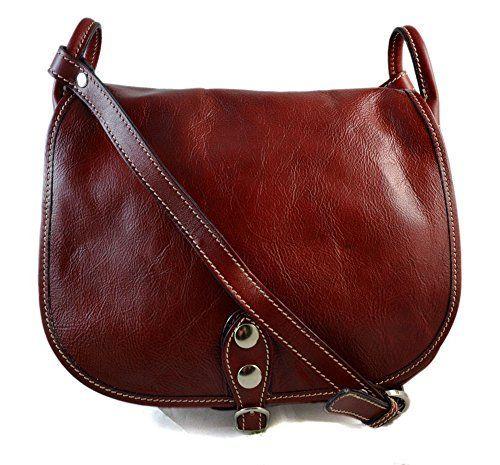 084961f5ab1 Bolso de mujer de piel bandolera de cuero bolso de espalda de cuero bolso  de piel made in Italy rojo