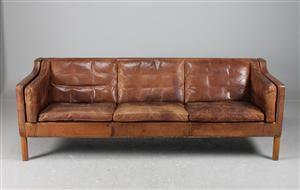 Børge Mogensen, soffa 2213, 3 sits   Borge mogensen, Danish