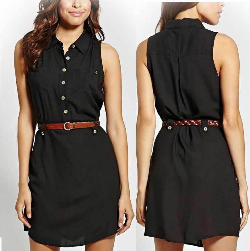 venta minorista 94f4f a7d79 vestidos casuales con cinturon delgado - Buscar con Google ...