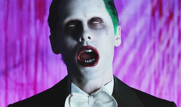 Jared Leto in the music video purple lamborghini