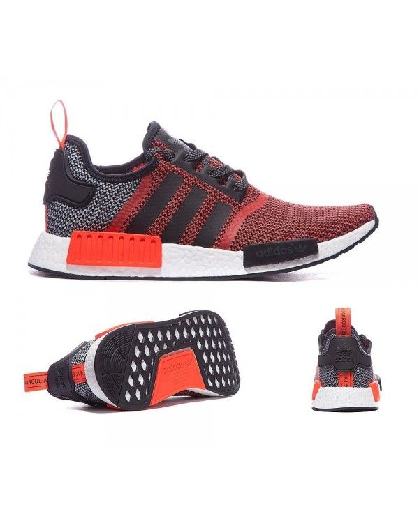 fbd5c9f09 Adidas NMD FOOTLOCKER EXCLUSIVE BLACK RED BOOST PRIMEKNIT LUSH RED BLACK  Red Bl Inexpensive  69.60 Stripes