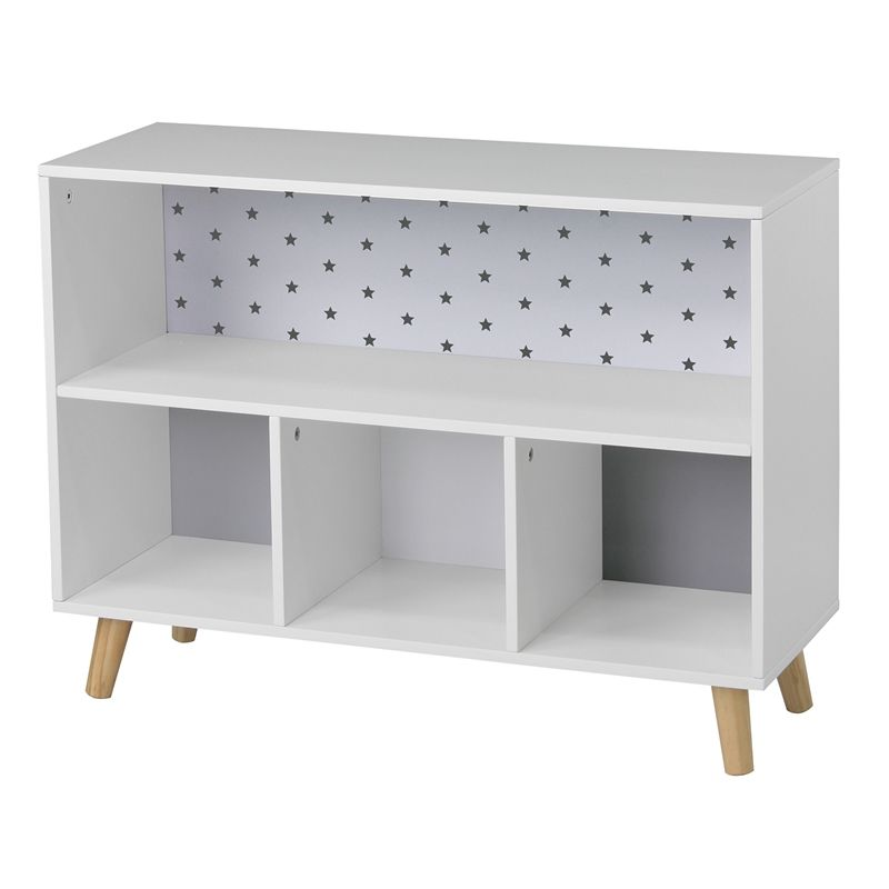 buy popular 709ef 2d9a0 Flexi Storage Kids Cube Storage Unit with Legs - White ...