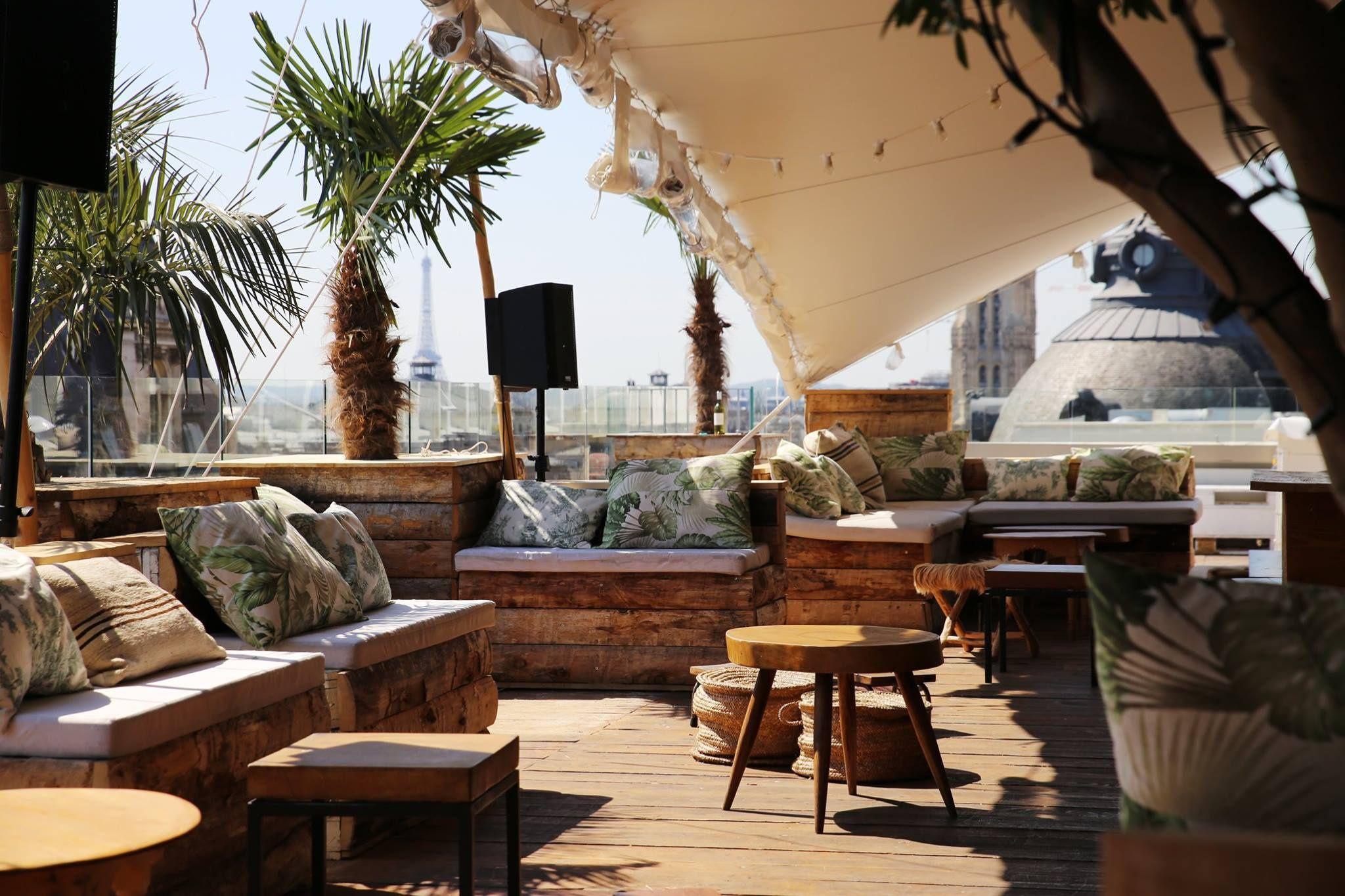 Rooftop Terraces In Paris - Terraces&Roof Flats - Pinterest -