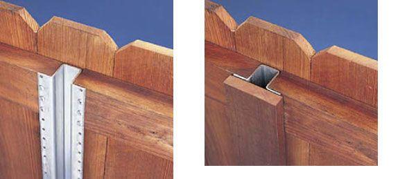 good fence post design outdoor construction Pinterest Fences