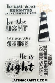 I love Matthew 5:16:  Let your light so shine before men, that they may see your good works, and glorify your Father which is in heaven.   In light of that passage I designed this set. Hope you like it as much as I do. This set can be use for Bible Jouranling and also for inspirational cards for your friends and family, to encourage others to be the light and inspire them to let their light shine.