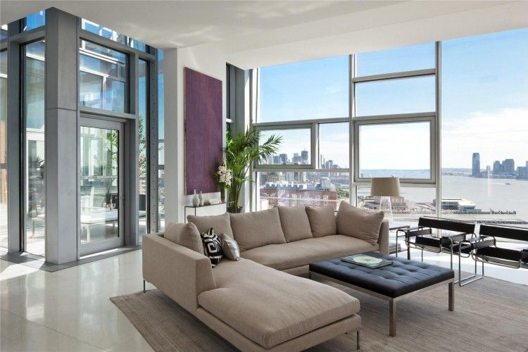 Spectacular Penthouse in Chelsea 100 11th Avenue Design interior